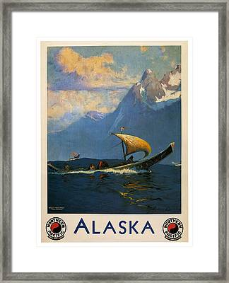 Alaska Framed Print by Georgia Fowler