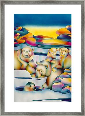 Alaska Paradise  Framed Print