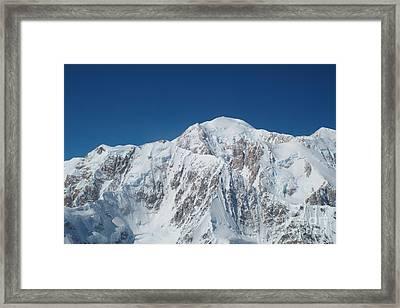 Alaska Peak Framed Print
