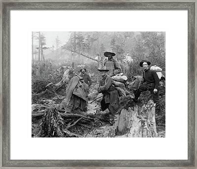 Alaska Prospectors, C1897 Framed Print by Granger