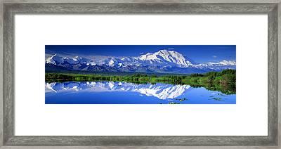 Alaska Range, Denali National Park Framed Print