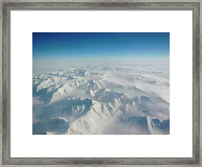 Alaska Range Framed Print