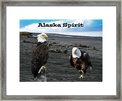 Alaska Spirit  Framed Print by Debra  Miller