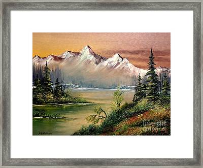 Alaska - Springtime Framed Print by Bill Holkham