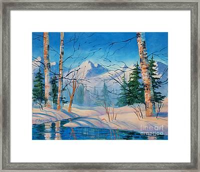 Alaska Winter Framed Print