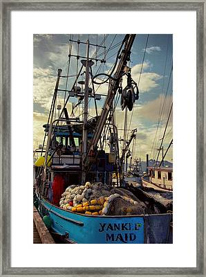 Alaska Yankee Maid Trawler Framed Print