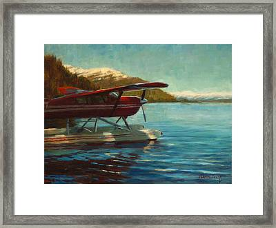 Alaskan Adventure Framed Print by Jeanne Young