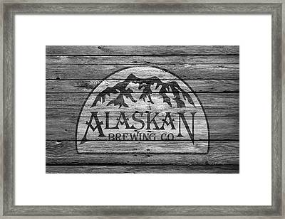 Alaskan Brewing Framed Print