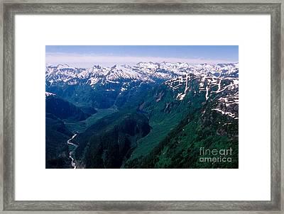 Alaskan Landscape Framed Print by Gregory G. Dimijian, M.D.