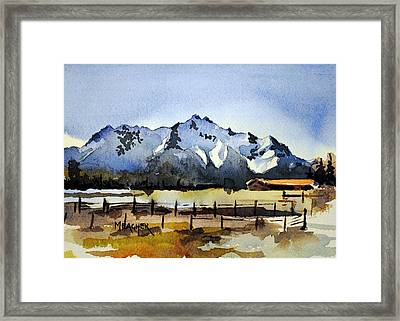 Alaskan Springtime Framed Print by Spencer Meagher