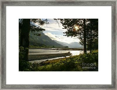 Alaskan Valley Framed Print
