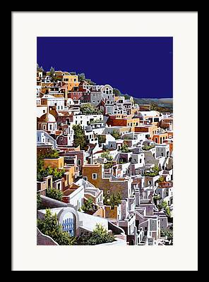 Ouzo Framed Prints
