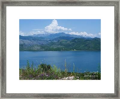 Albania From Lake Skadar Framed Print