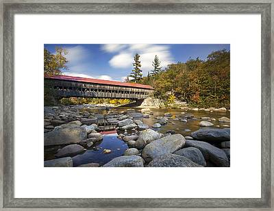Albany Covered Bridge Framed Print by Eric Gendron