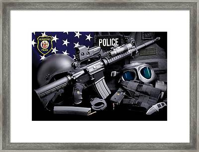 Albany Police Framed Print