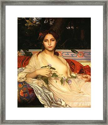 Albayde Framed Print by Pg Reproductions