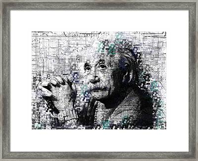 Albert Einstein 2 Framed Print