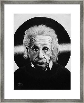 Albert Einstein Framed Print