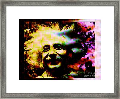 Albert Einstein - Why Is It That Nobody Understands Me - Yet Everybody Likes Me Framed Print