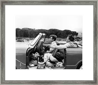 Albert Finney In Two For The Road  Framed Print