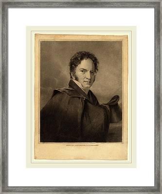 Albert Newsam After Thomas Sully, Gideon Fairman, American Framed Print