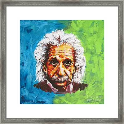 Albert Tribute Framed Print
