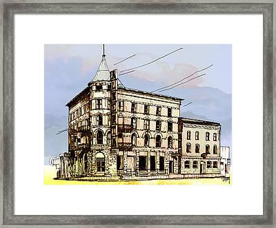 Alberta Hotel Framed Print