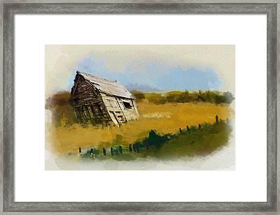 Alberta Landscape 6 Framed Print by Mahnoor Shah