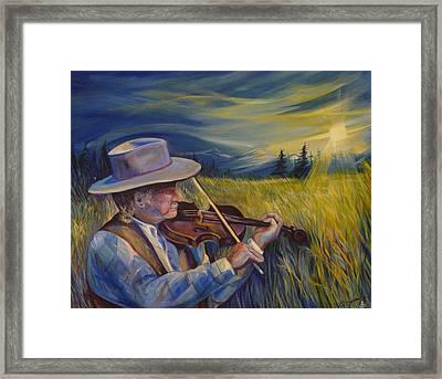 Alberta Lullaby Framed Print