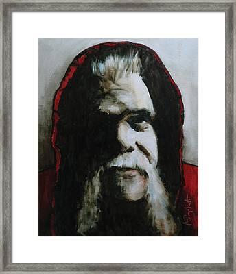 Alberto Framed Print by Alexei Biryukoff