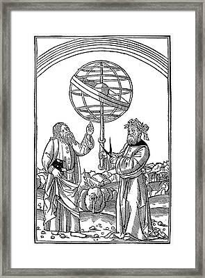 Albertus Magnus (1193-1280) Framed Print
