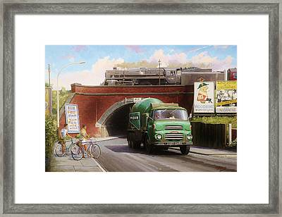 Albion Mixer. Framed Print by Mike  Jeffries