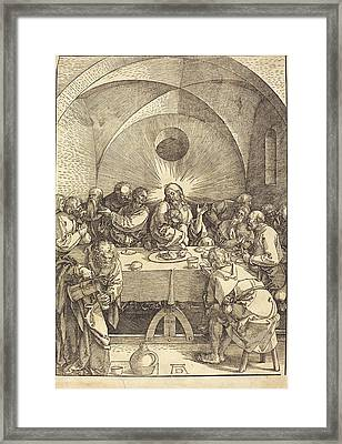 Albrecht Dürer German, 1471 - 1528, The Last Supper Framed Print
