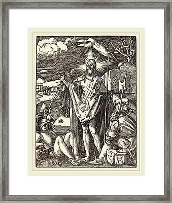 Albrecht Dürer German, 1471-1528, The Resurrection Framed Print