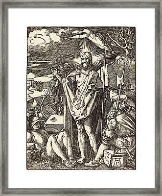 Albrecht Dürer German, 1471 - 1528, The Resurrection Framed Print