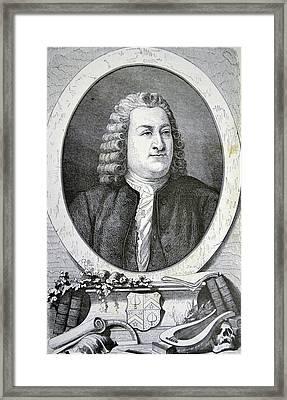 Albrecht Von Haller Framed Print by Universal History Archive/uig