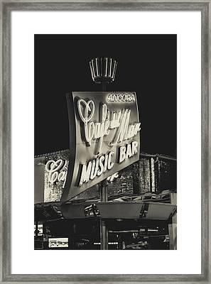 Albufeira Street Series - Cafe Del Mar II Framed Print