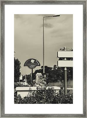 Albufeira Street Series - Teasers Framed Print by Marco Oliveira
