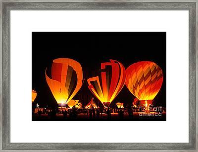 Albuquerque Balloon Festival Framed Print by Mark Newman