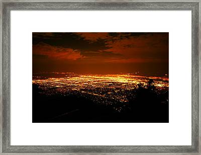 Albuquerque New Mexico  Framed Print by Jeff Swan