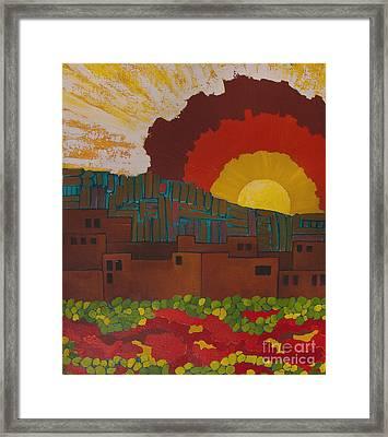 Albuquerque Nm Framed Print