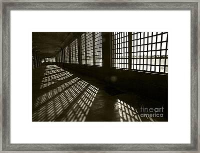 Alcatraz 4 Framed Print by Micah May