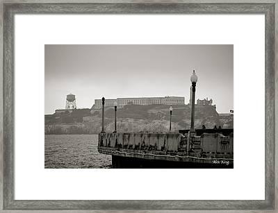 Alcatraz Framed Print by Alex King