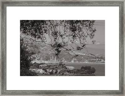 Alcatraz In San Fransico Framed Print by John McGraw