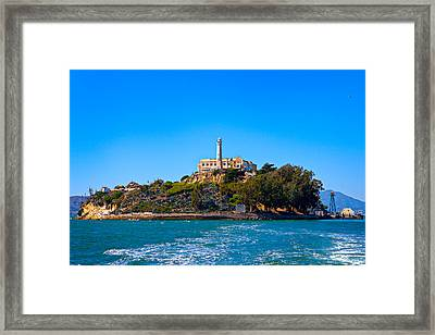 Alcatraz Island Framed Print by James O Thompson
