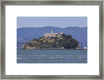 Alcatraz Island Framed Print by John McGraw