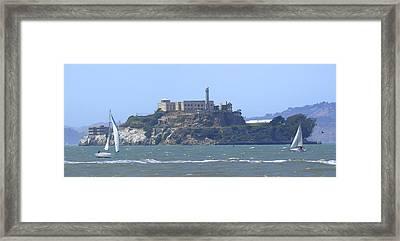Alcatraz Island Framed Print by Mike McGlothlen