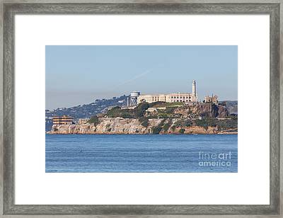 Alcatraz Island San Francisco California 5dimg2523 Framed Print