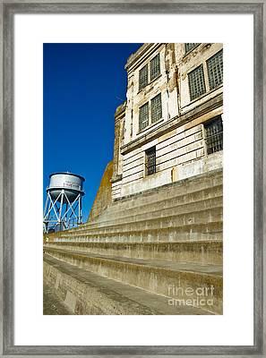 Alcatraz Framed Print by Micah May