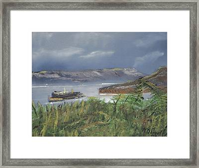 Alcatraz Framed Print by Michael Daniels